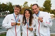 Úspěšní medailisté - Tunka, Fišerová, Přindiš