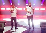Němečtí rapeři Kollegah a Farid Bang
