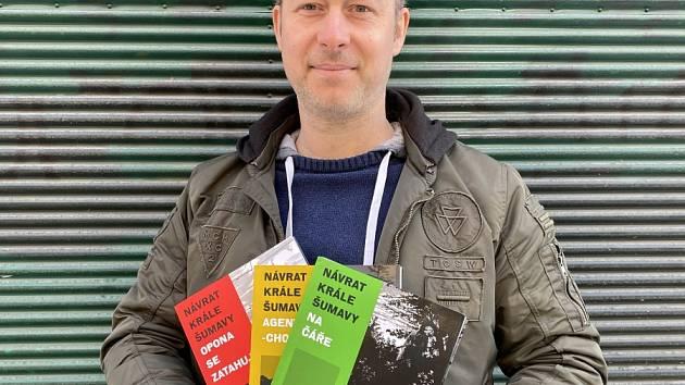 Ondřej Kavalír, autor komiksové trilogie Návrat Krále Šumavy
