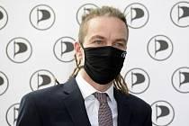 Předseda Pirátů Ivan Bartoš