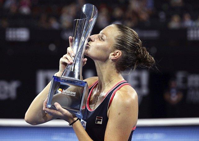 Karolína Plíšková získala titul v Brisbane.