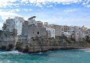 Italské městečko Polignano a Mare