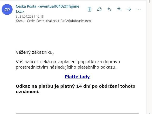 Falešný e-mail