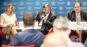 Debata Hospodářské komory v Praze
