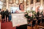 Marcela Dvořáčková z Ústeckého kraje se stala vítězkou soutěže Žena regionu 25. října v Praze.