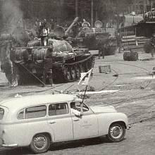 Sovětská vojska v Praze