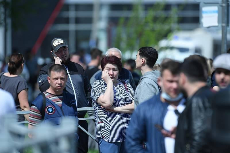 Střelba ve škole v Kazani