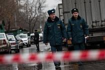 Střelba v moskevské továrně