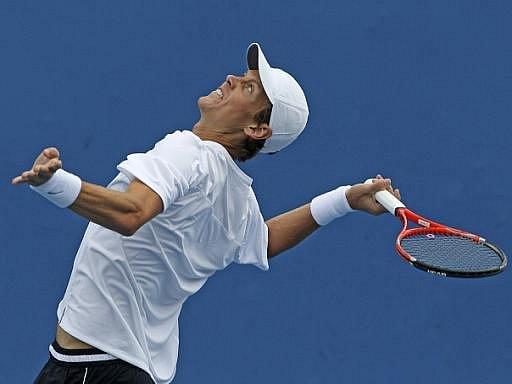 Tomáš Berdych vypadl na Australian Open už ve 2. kole.