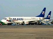 Letadla společnosti Travel Service
