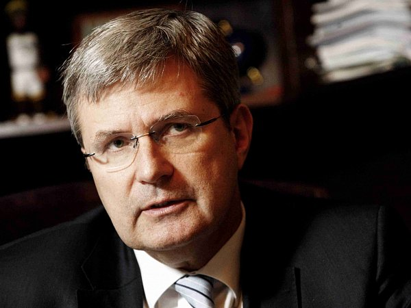 Předseda ČSTV Miroslav Jansta