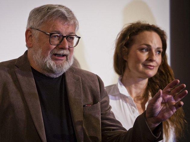 Josef Klíma s Markétou Hrubešovou.