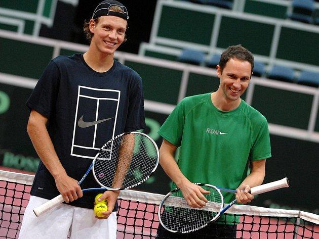tenis Davis cup Cze-Sui Berdych a Muchow