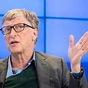 Bill Gates v Davosu