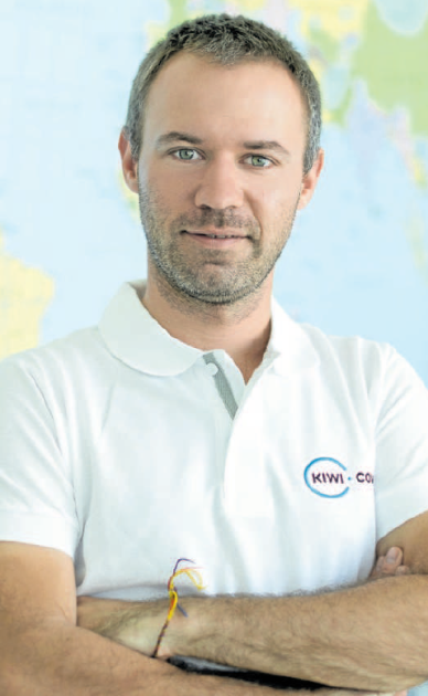 Zakladatel a dnes výkonný ředitel úspěšné brněnské společnosti Kiwi.com Oliver Dlouhý