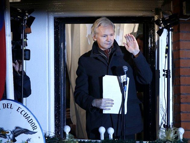 Spoluzakladatel kontroverzního serveru WikiLeaks Julian Assange.