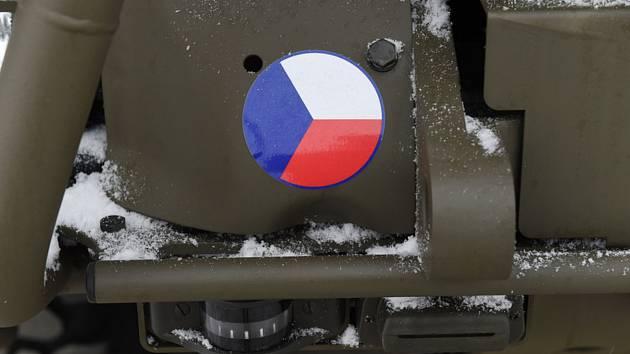 Vozidlo české armády - ilustrační foto