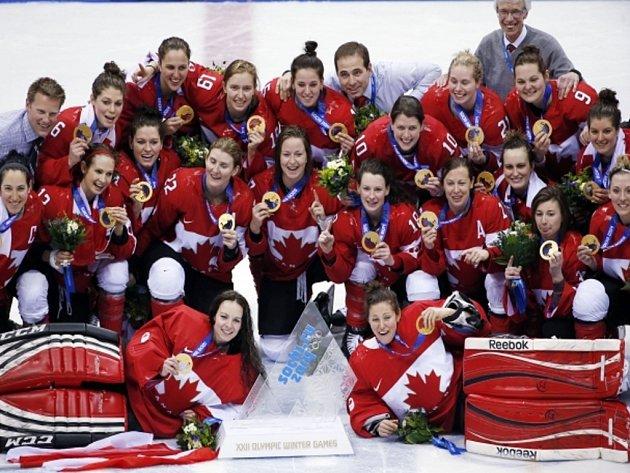 Hokejistky Kanady vyhrály olympijský turnaj v Soči a zlato získaly počtvrté za sebou.