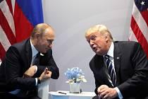 Donald Trump s Vladimirem Putinem