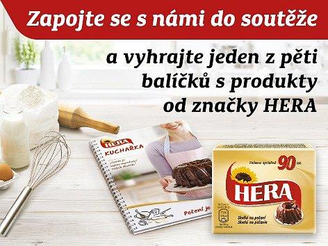 Soutěž o balíčky společnosti HERA.