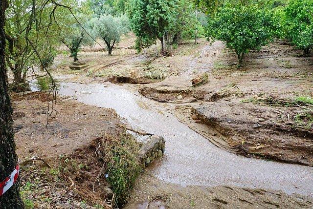 Povodně na jihu Itálie