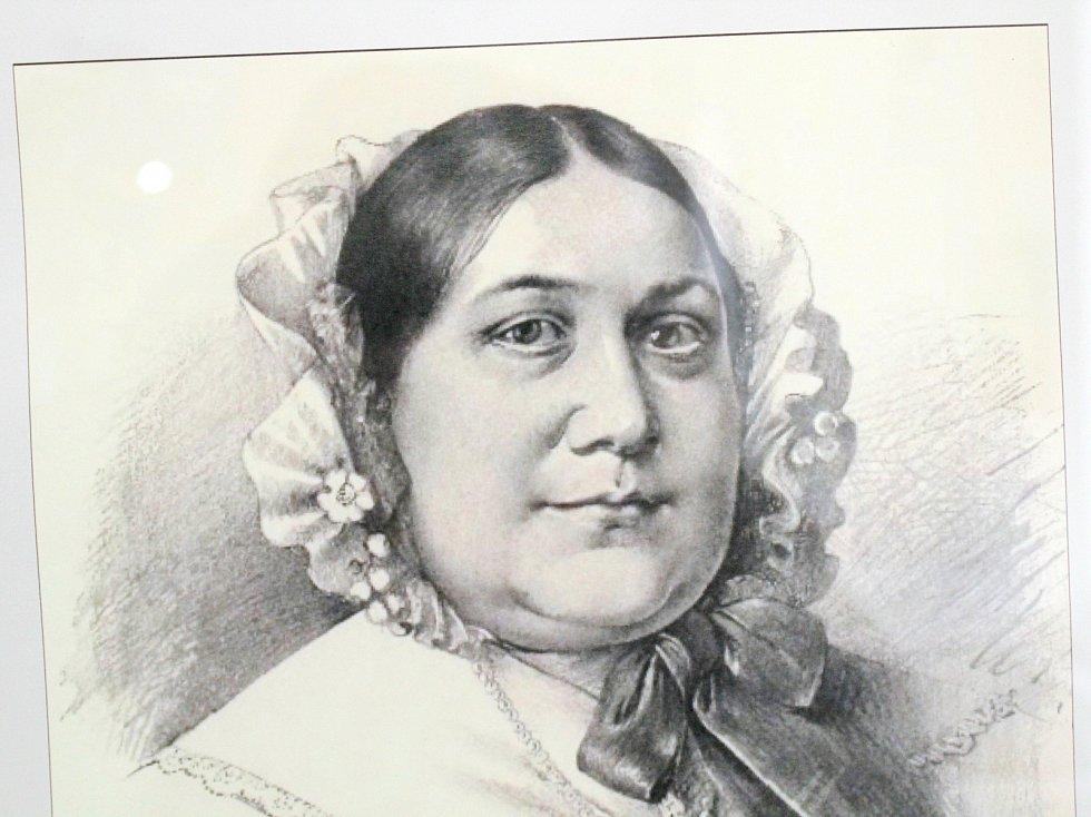 Portrét M. D. Rettigové od Jana Vilímka