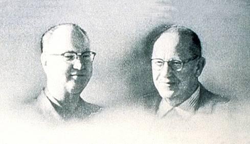 Bratři Richard a Maurice McDonaldové, zakladatelé slavné značky