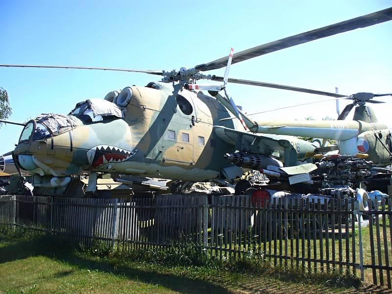 MI-24. Vrtulník Mi-24 je neznámějším bojovým vrtulníkem pocházejícím ze Sovětského svazu