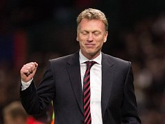 Úleva trenéra Davida Moyese: s fotbalisty Manchesteru United postoupil do čtvrtfinále Ligy mistrů.