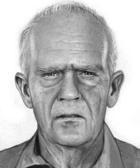 Jak by mohl John Anglin vypadat ve stáří
