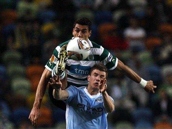 Edin Džeko se neprosadil, jeho Manchester City padl na hřišti Sportingu Lisabon.