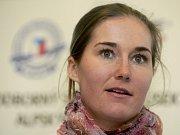 Lyžařka Šárka Záhrobská obsadila na mistrovství světa ve Schladmingu osmé místo ve slalomu.