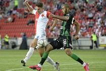 Slavia Praha - Ferencváros Budapest, odveta předkola Ligy mistrů