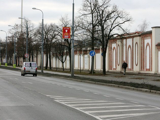 Borská ulice v Plzni. Ilustrační foto