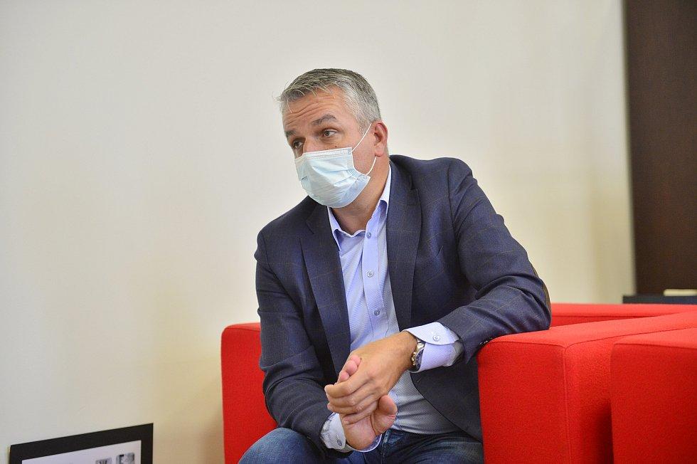Generální ředitel České pošty Roman Knap