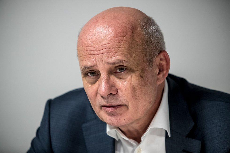 Michal Horáček poskytl 4. ledna v Praze rozhovor Deníku.