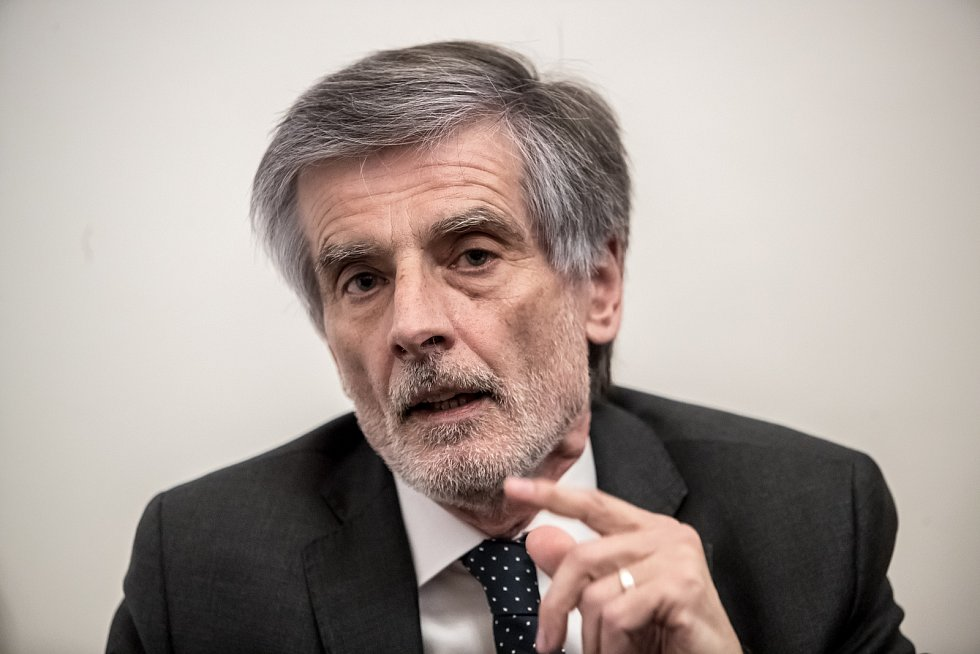 Slovenský velvyslanec Peter Weiss.