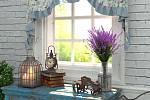 ahradnímu zákoutí dodají nádech romantiky kovové doplňky či proutěný nábytek, který ozvláštníte nátěrem.