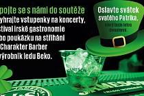 Soutěž o vstupenky na koncerty, festival irské gastronomie nebo poukázku na stříhání do Charakter Barber či výrobník ledu Beko.