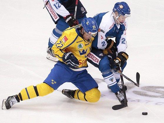 Andre Petersson ze Švédska a Markus Nutivaara z Finska