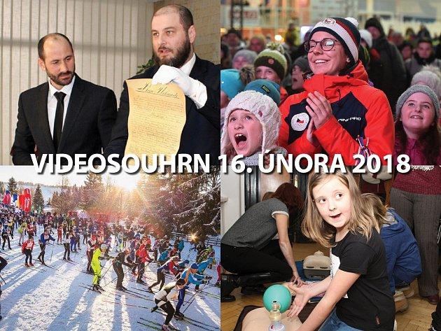 Videosouhrn Deníku – pátek 17. února 2018