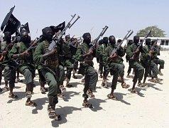 Ozbrojenci z islamistického hnutí Šabáb. Ilustrační foto