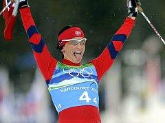 Norka Björgenová si právě dojela pro své třetí vancouverské zlato.