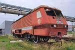 Lokomotiva řady 169 odstavená v Plzni.