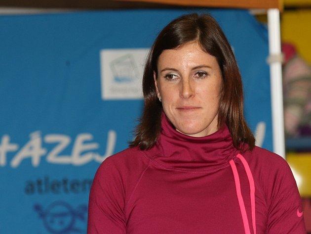 Mistryně světa v běhu na 400 metrů Zuzana Hejnová.