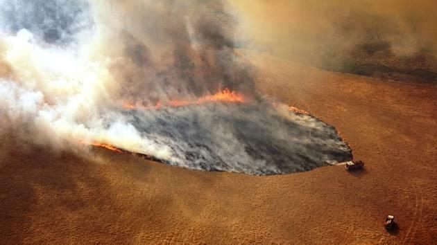 Austrálii sužují rozsáhlé požáry