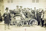 První vůz s volantem řídil Alfred Vacheron