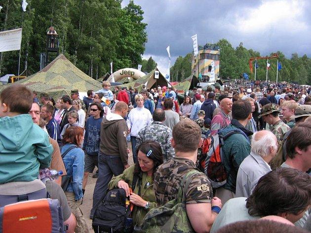 Zájem byl veliký. Podle odhadů navštívilo letošní Bahna 52 000 diváků.
