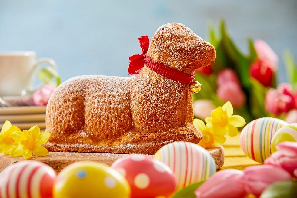 Velikonoční beránek může mít různé tvary, forem je mnoho.