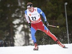 Běžec na lyžích Lukáš Bauer.
